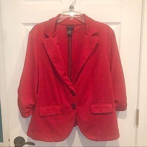 Torrid Red Blazer